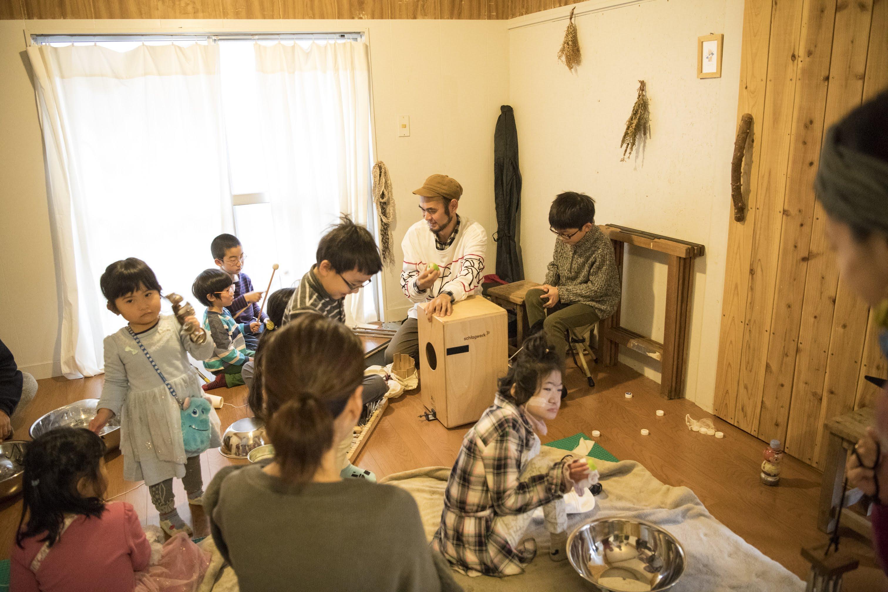 【当日レポート】多目的打楽器で演奏会!さまざまな楽器に触れて楽しむおやすみ